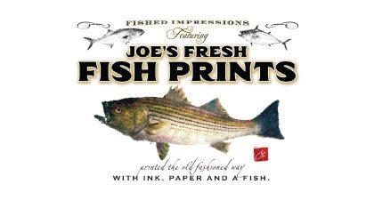 Joe's Fresh Fish Prints