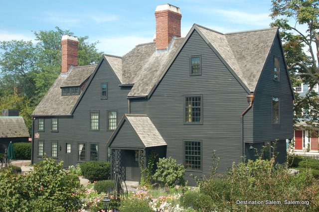 Salem, MA, House of the Seven Gables