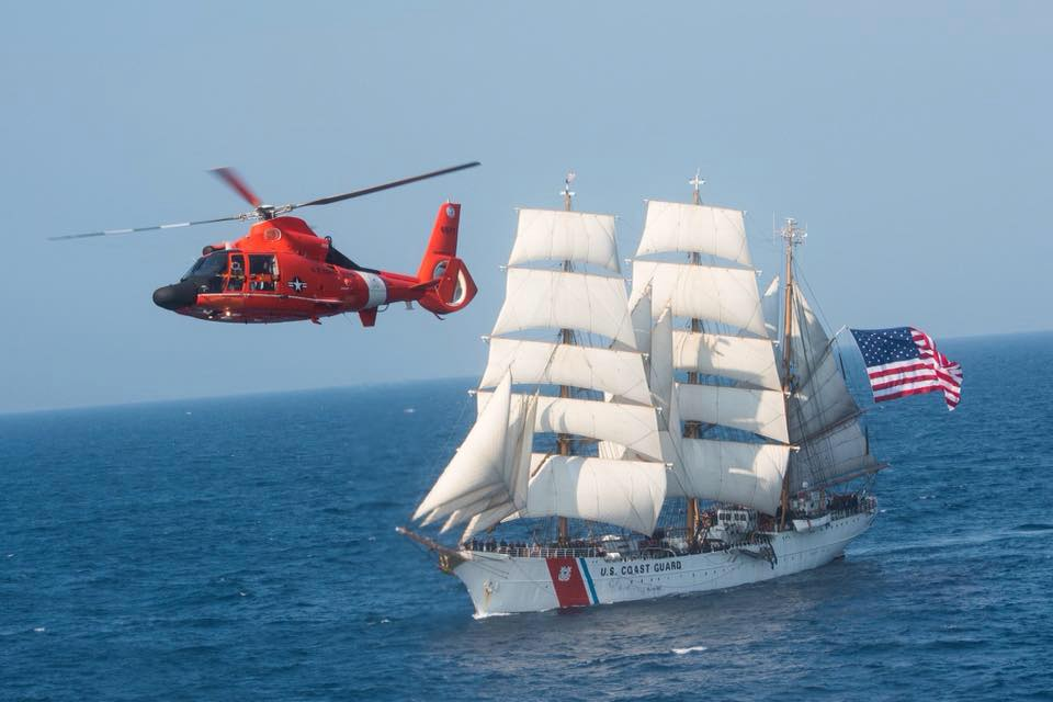Coast Guard Eagle Tall Ship