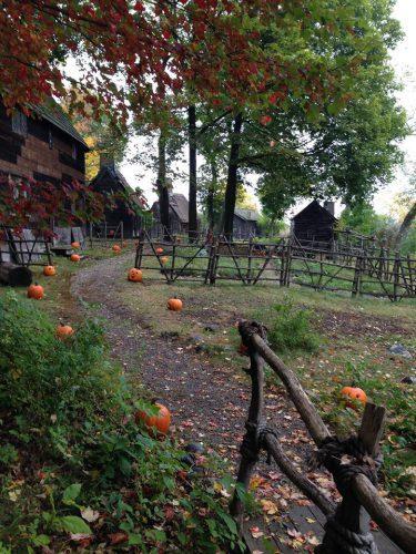 Salem MA Haunted Happenings Lanterns at the Village
