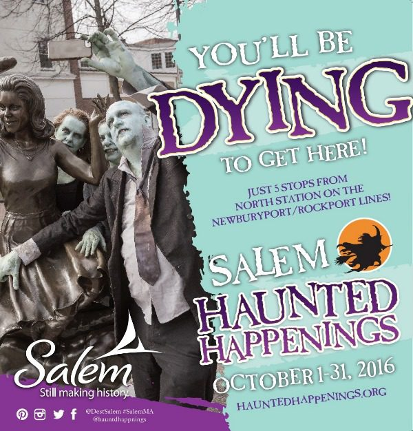 Salem MA Haunted Happenings 2016
