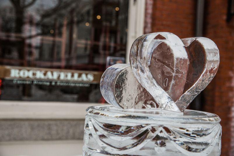Salem's So Sweet ice sculptures