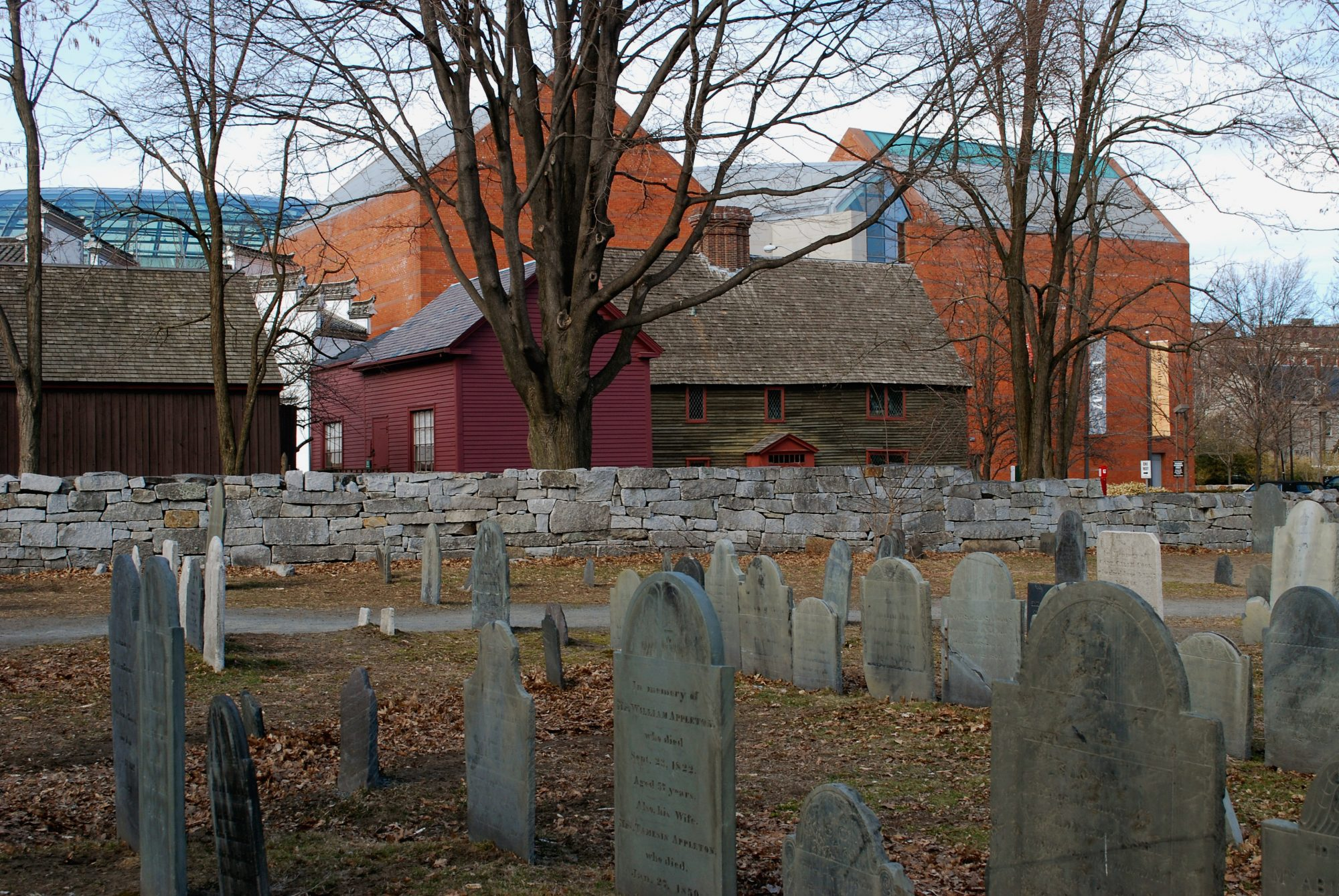 Charter Street Cemetery Salem MA