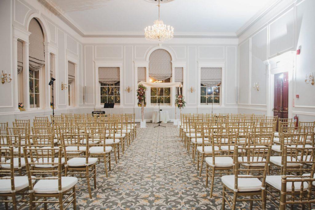 Hawthorne Hotel Salem Wedding Ceremony