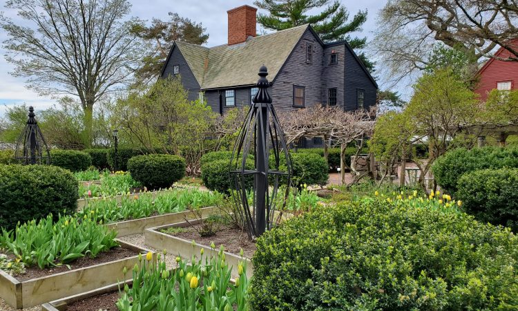 The House of Seven Gables garden