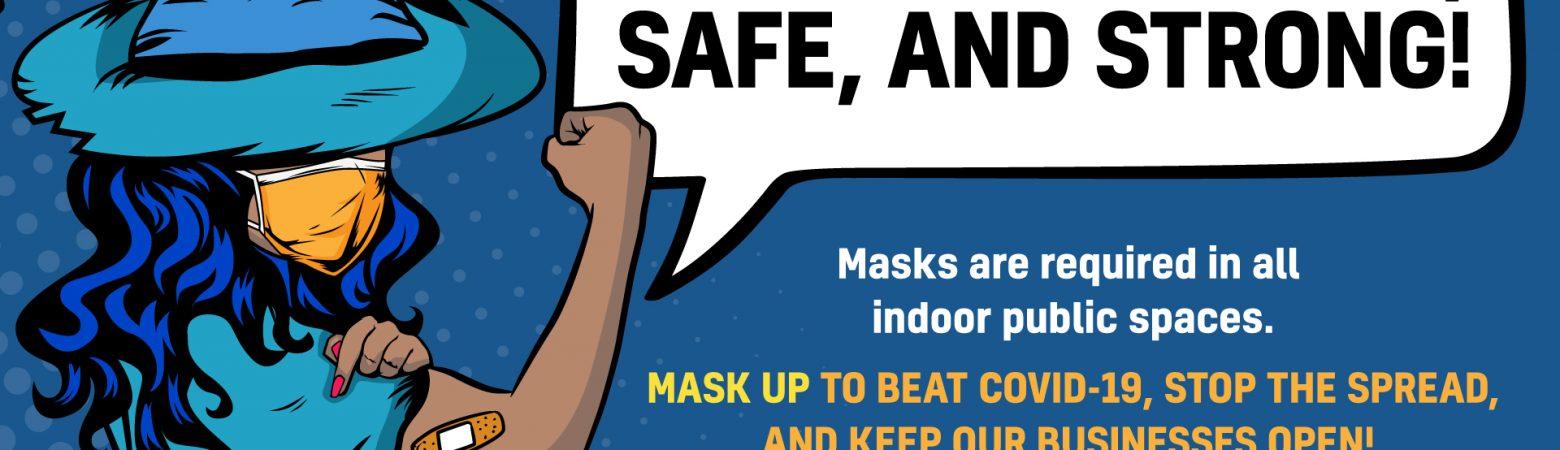 Keep Salem Open Masking graphic