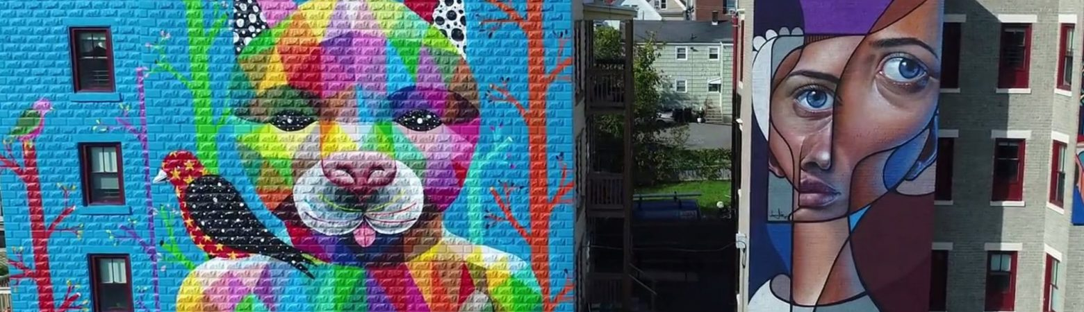 Murals in Salem, Massachusetts