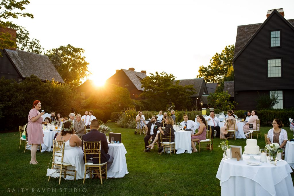 The House of the Seven Gables Wedding