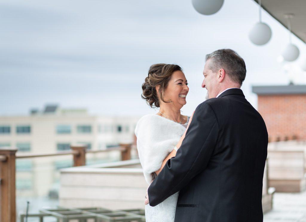 The Hotel Salem Roof Wedding