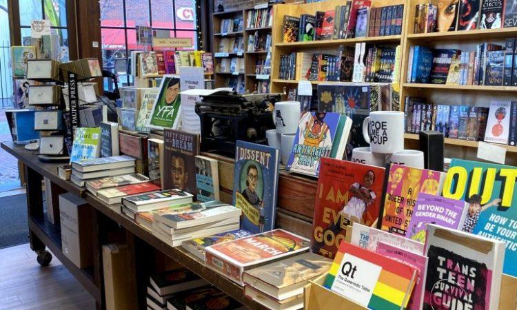 Wicked Good Books Bookstore on Essex Street in Salem, Massachusetts