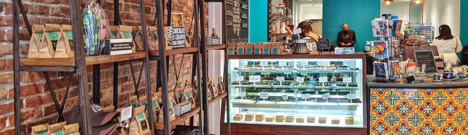 Kakawa Chocolate House in Salem, Massachusetts