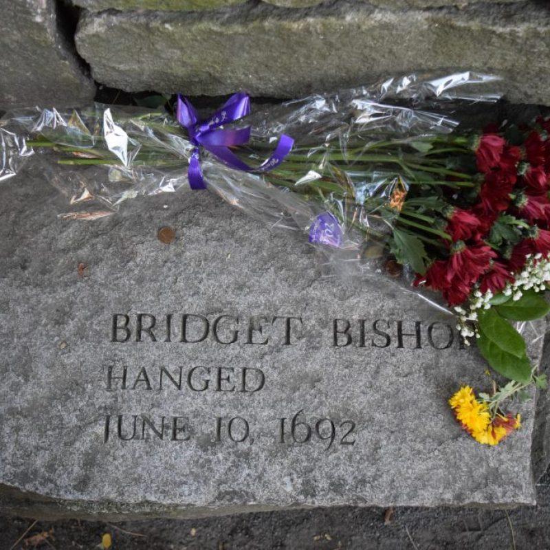 Bridget Bishop Salem Witch Trials Memoral