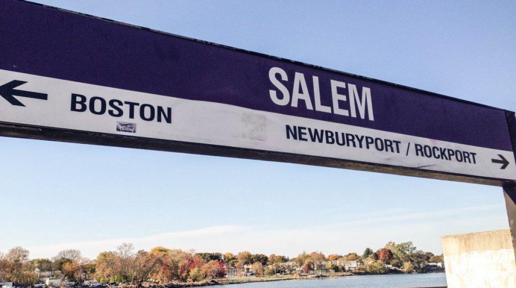 MBTA Commuter Rail to Salem