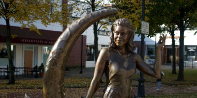 Samantha Bewitched Statue in Salem, Massachusetts