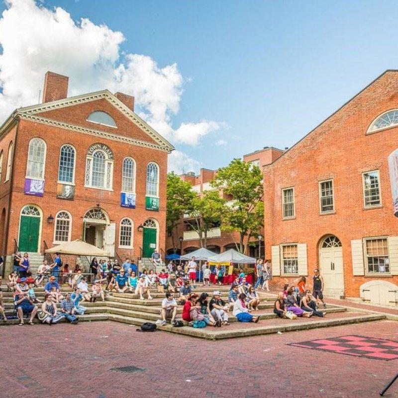 Derby Square in Salem