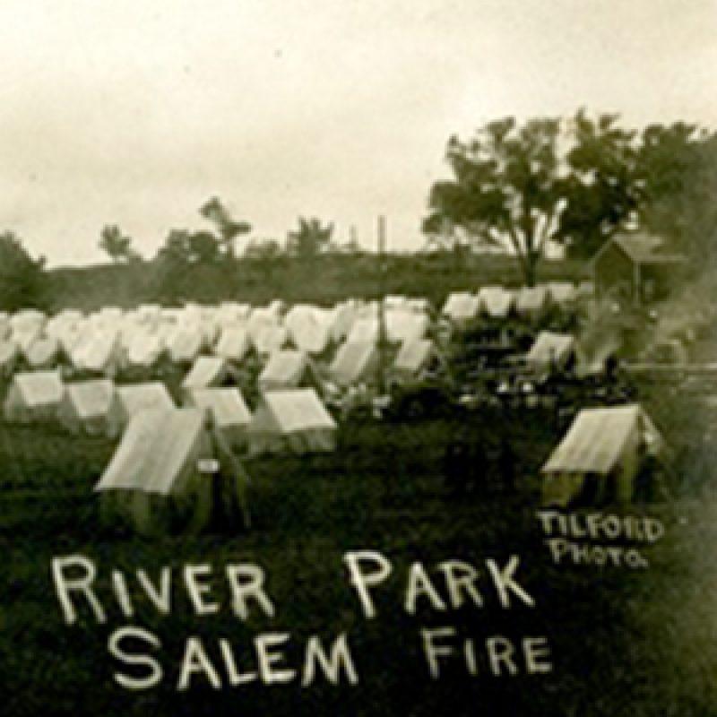 River Park Salem Fire