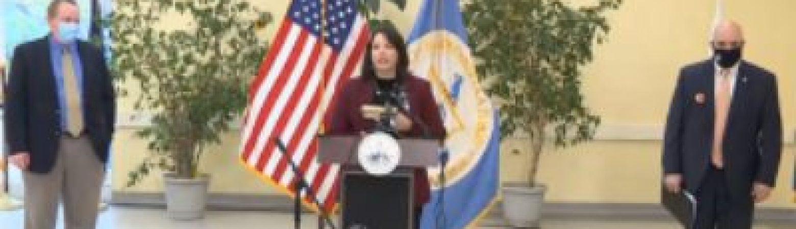 Mayor Kim Driscoll speaking