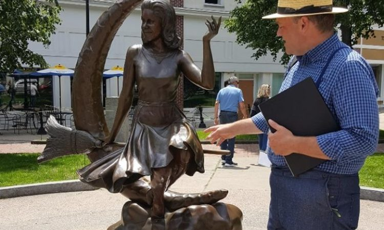 Samantha Statue in Salem, Massachusetts
