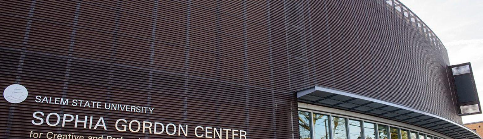 Exterior of the Sophia Gordon Preforming Arts Center